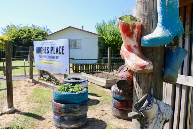 The Hughes Place Garden Project